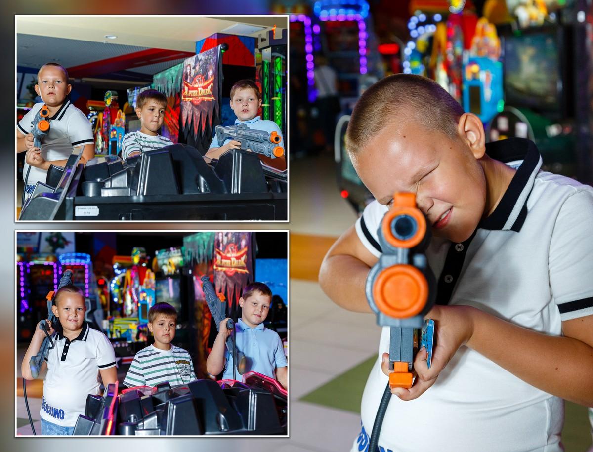 Детская команда стрелков