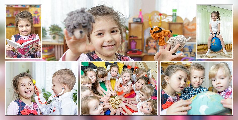 Фотограф в детском саду снимает все. Дети учатся, рисуют и кушают