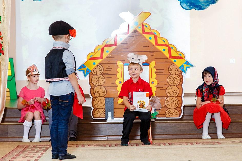 Детская сценка. Сказка Репка на осеннем утреннике в детском саду