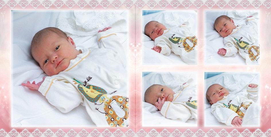Первые эмоции младенца. Фотосъемка выписки из родильного дома.