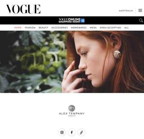 Alex Tempany for Vogue