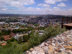 Bloemfontein view from Naval Hill