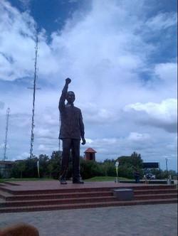 Madiba on Naval Hill
