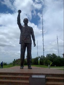 Nelson Mandela Statue on Naval Hill