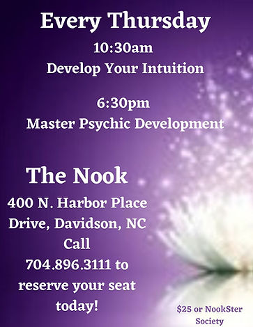 August 2020 Thursday Psychic Development