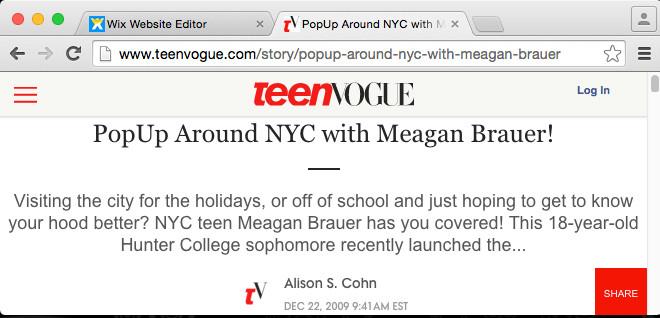 TeenVogue Feature