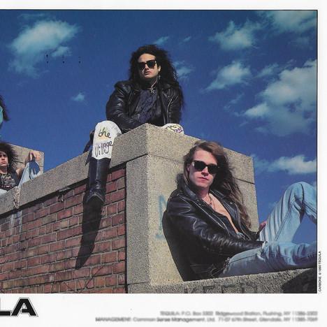 Band on the Aquacade Wall