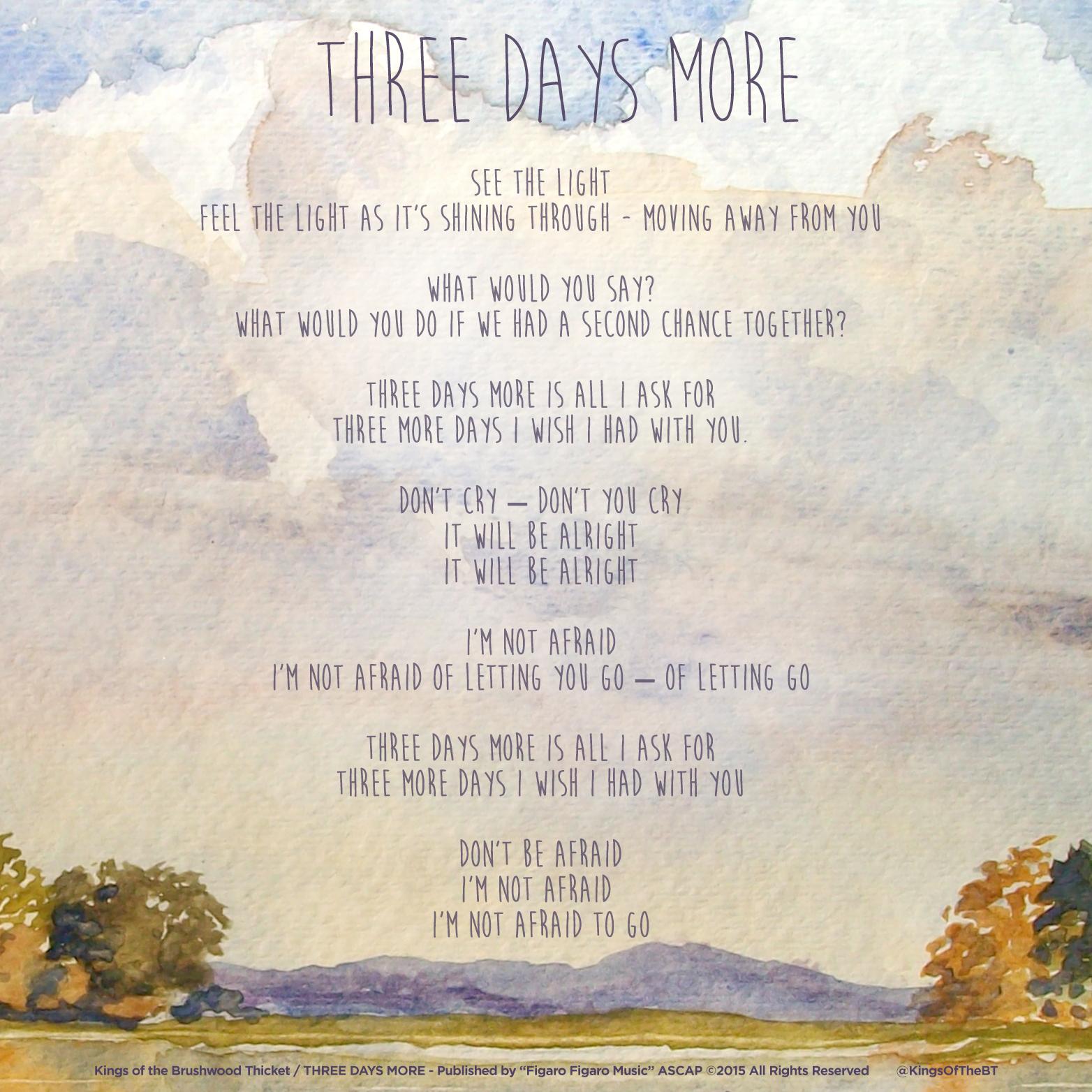lyric_3days