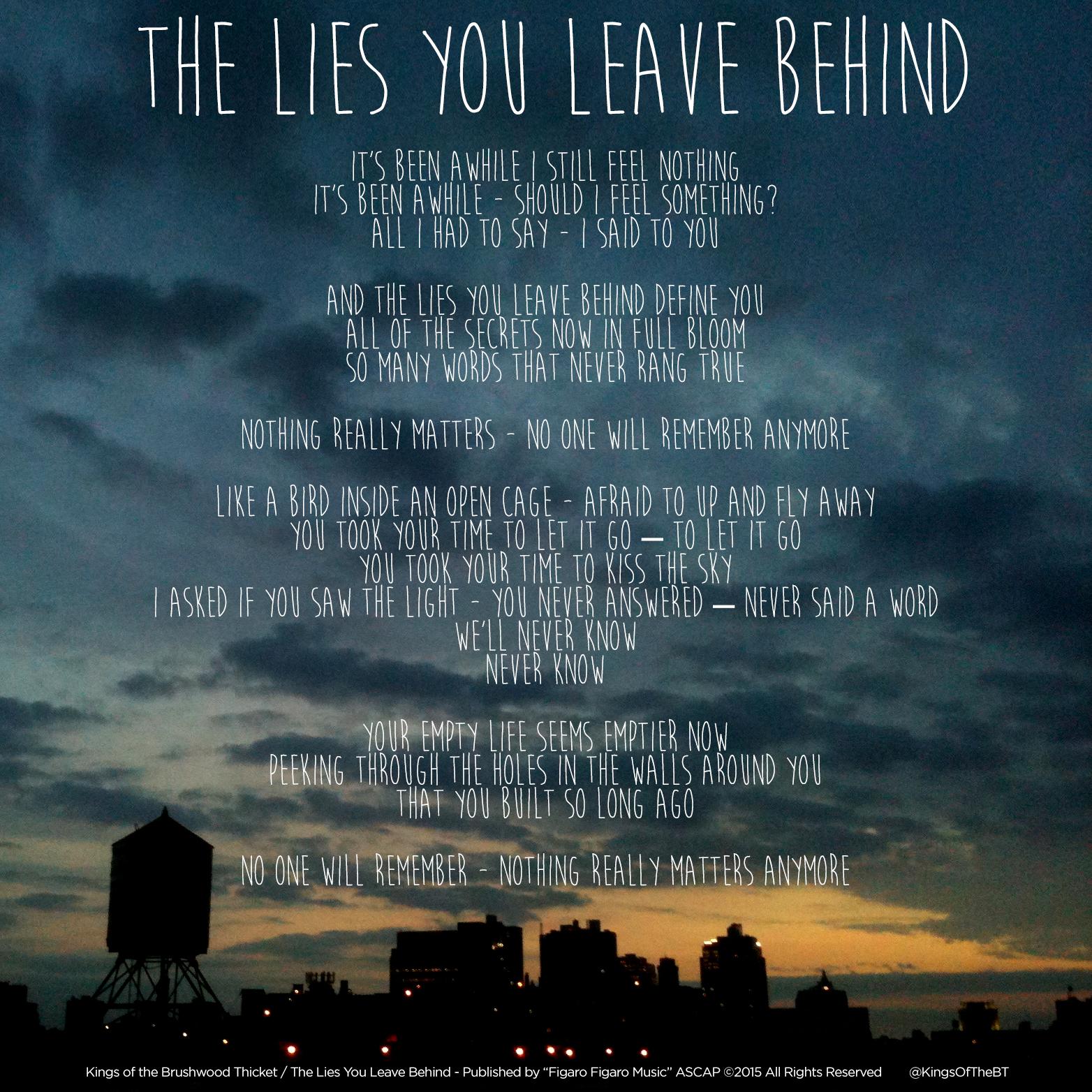 lyrics_the lies