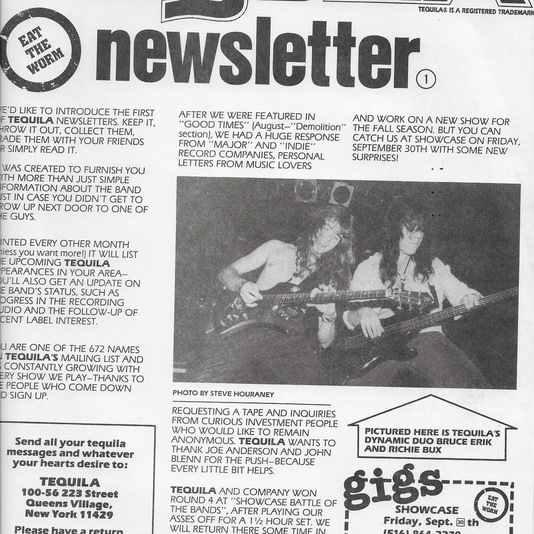 Vintage Newsletter