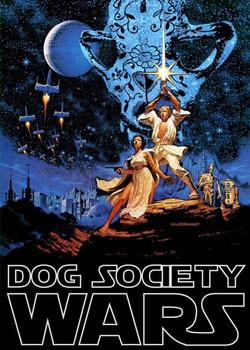 Dog Poster Entree