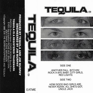 TEQUILA demo cassette art