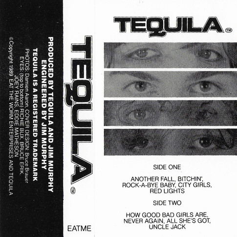TEQUILA demo cassette art