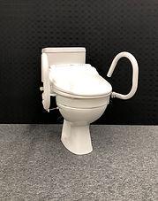 Bio-bidet, Throne 50mm Toilet Raiser, Throne 3-in-1 Support Rail