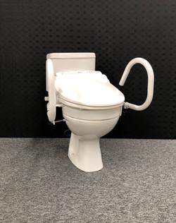 Bio-bidet, 50mm spacer, 3-in-1 Toilet Support Rail