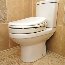 E'LOO Bidet System and Throne 50mm Toilet Raiser