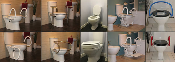 A montage of the Throne UK range