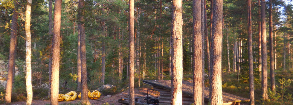 Packraft Adventure Sweden Family Holiday