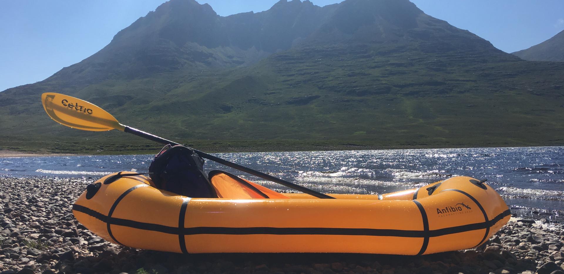 Packraft Adventure Wild Scotland
