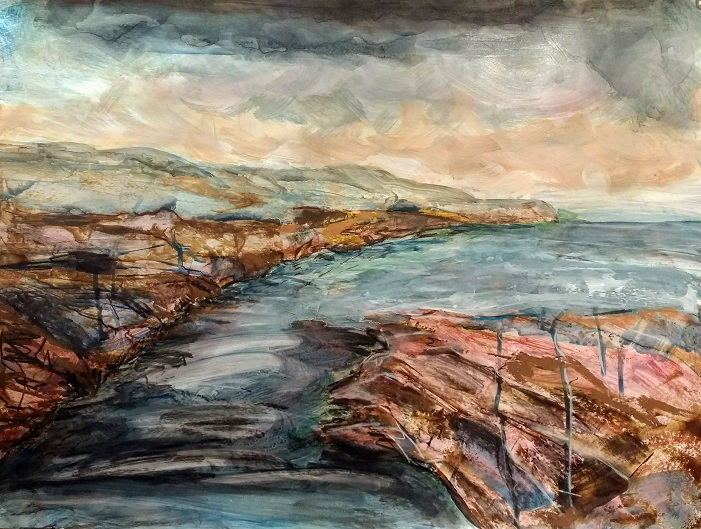 Rugged coast 65x49cm