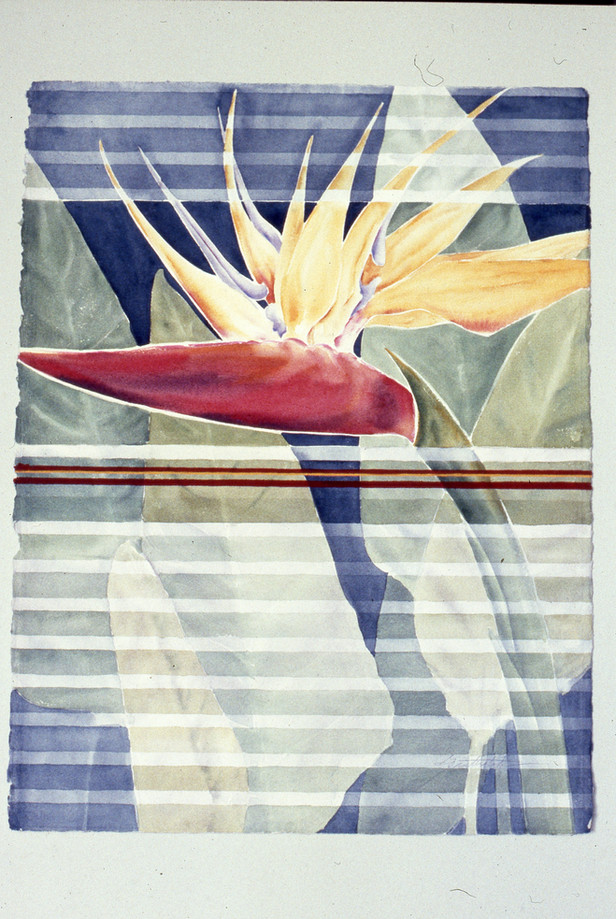 """Bird of Paradise"" series, # 3"