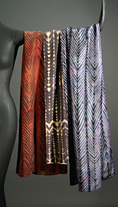 Silk Shibori