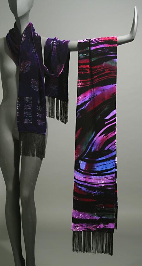 Velvet Batik Scarves