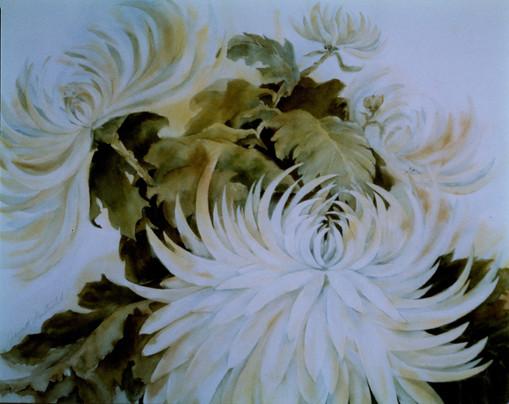 sample commission.Chrysanthemum.watercol