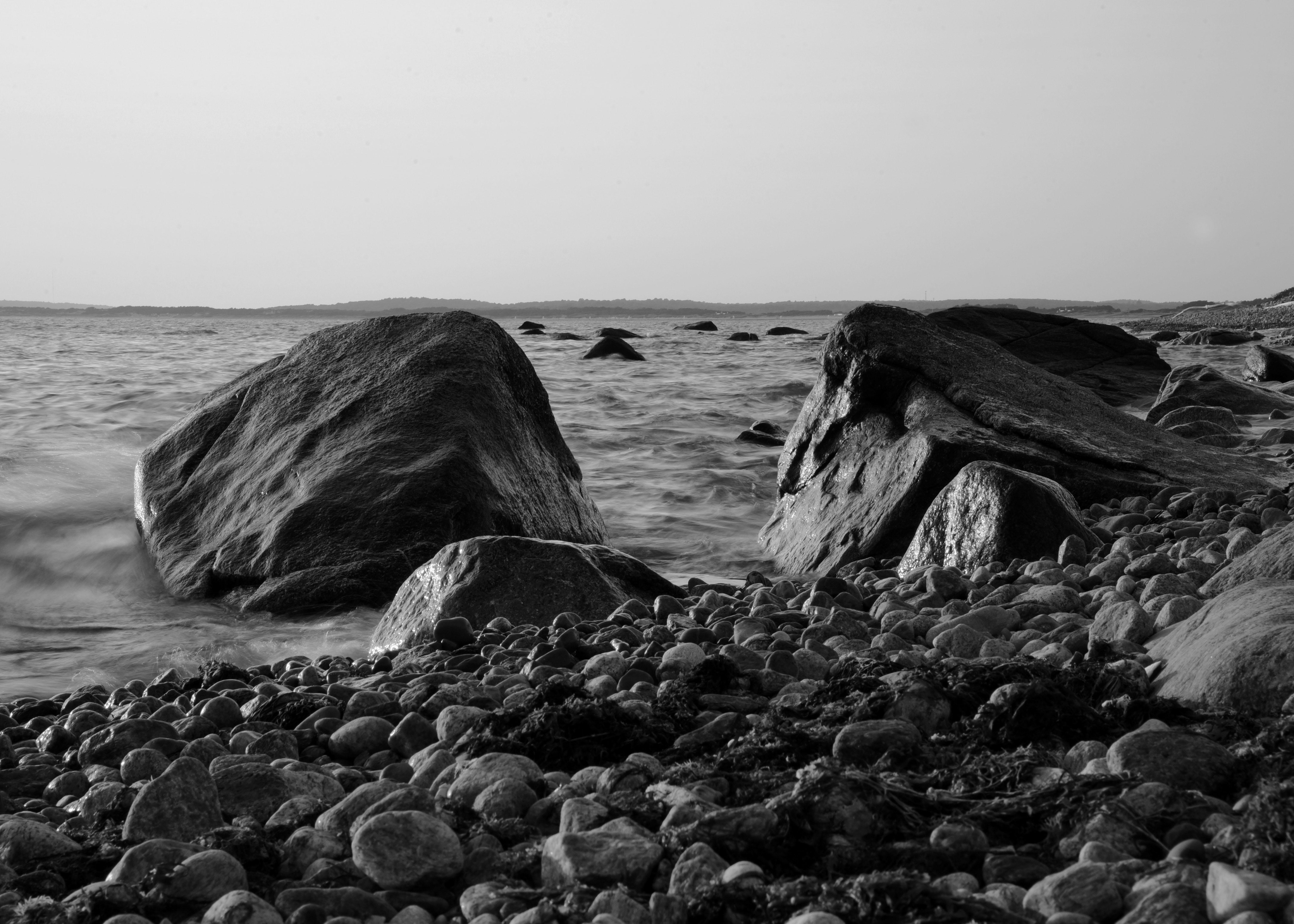 B/W Beach