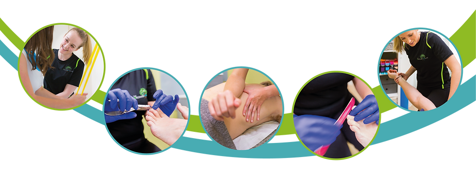 osteopathy treatment, sports massage, kinesio taping, dry needling