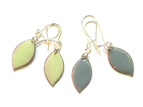 Spring Leaf Earrings