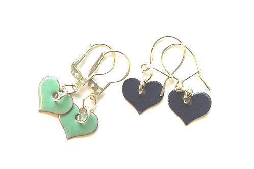 Teeny Hearts Earrings