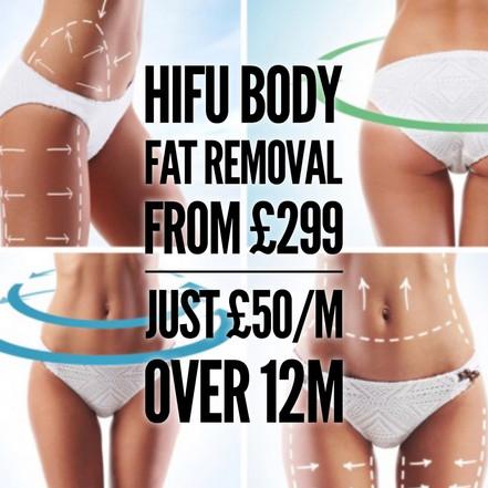HiFu Fat Removal Finance