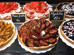 tartes aux fruits frais