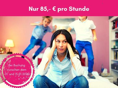 Mama-Coaching zum Neujahrs-Preis