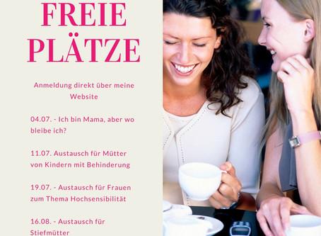 Freie Plätze für Netzwerk-Veranstaltungen für Frauen