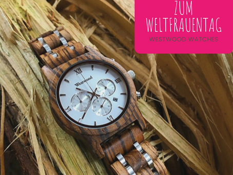Weltfrauentag - 20% bei Westwood Watches
