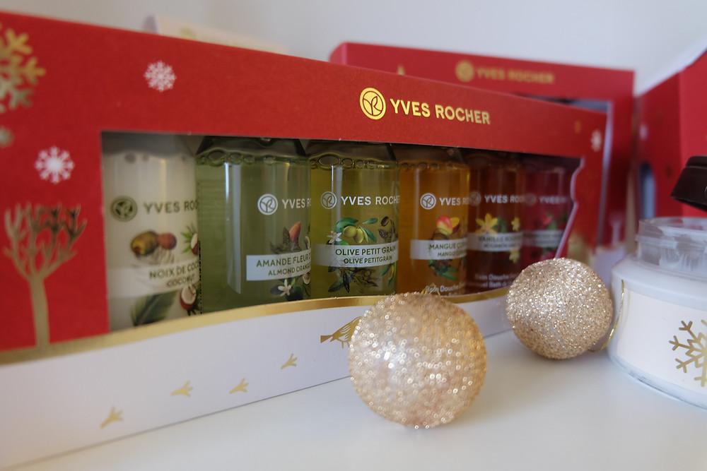 Kit Noël bains douche Les Plaisirs Nature Yves Rocher : 9,95€