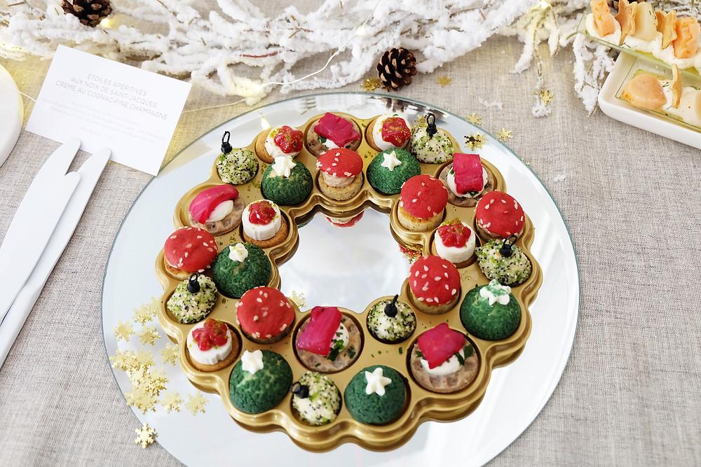 Couronne de Noël apéritive PICARD - 14,95€