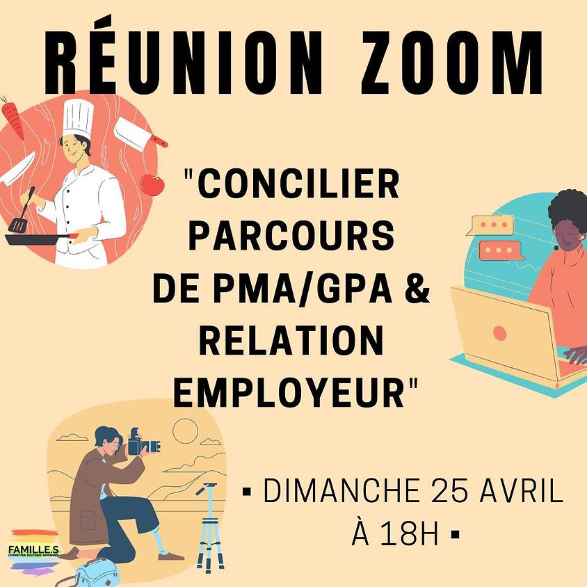 ZOOM #3 / Concilier parcours de PMA/GPA et relation employeur