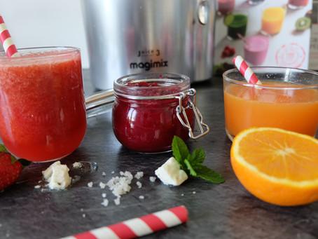3 jus ultra-vitaminés avec Magimix