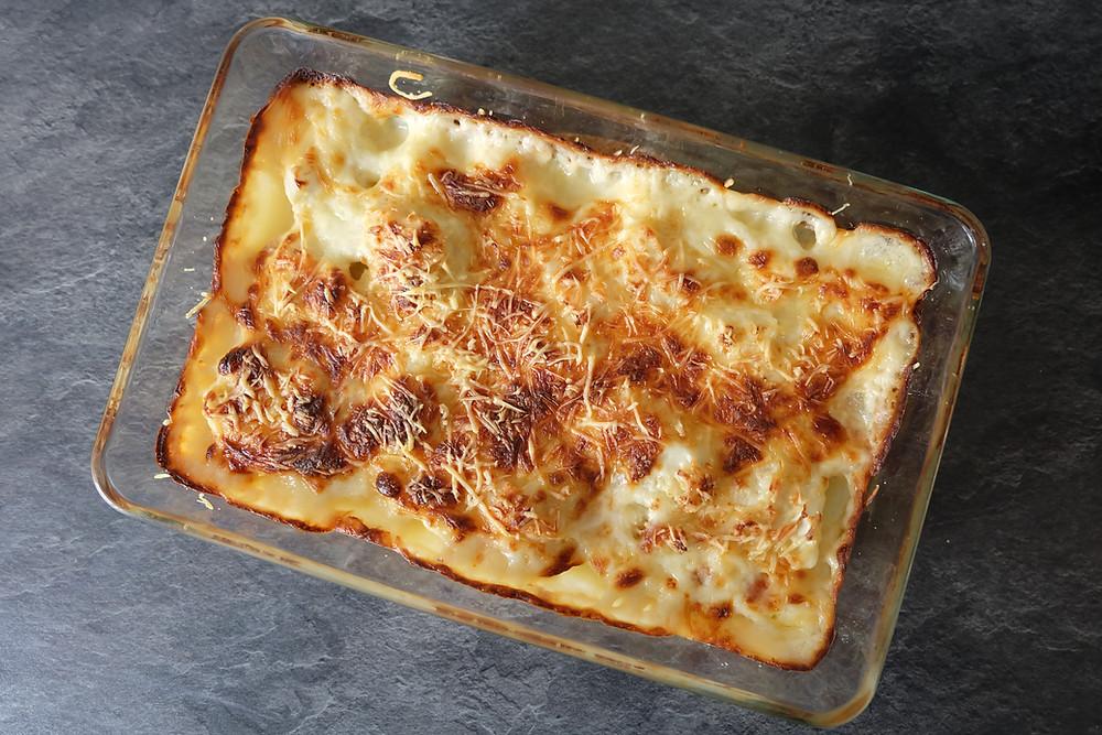 Recette cuisine gratin chou fleur blog blogueuse Mood of the City