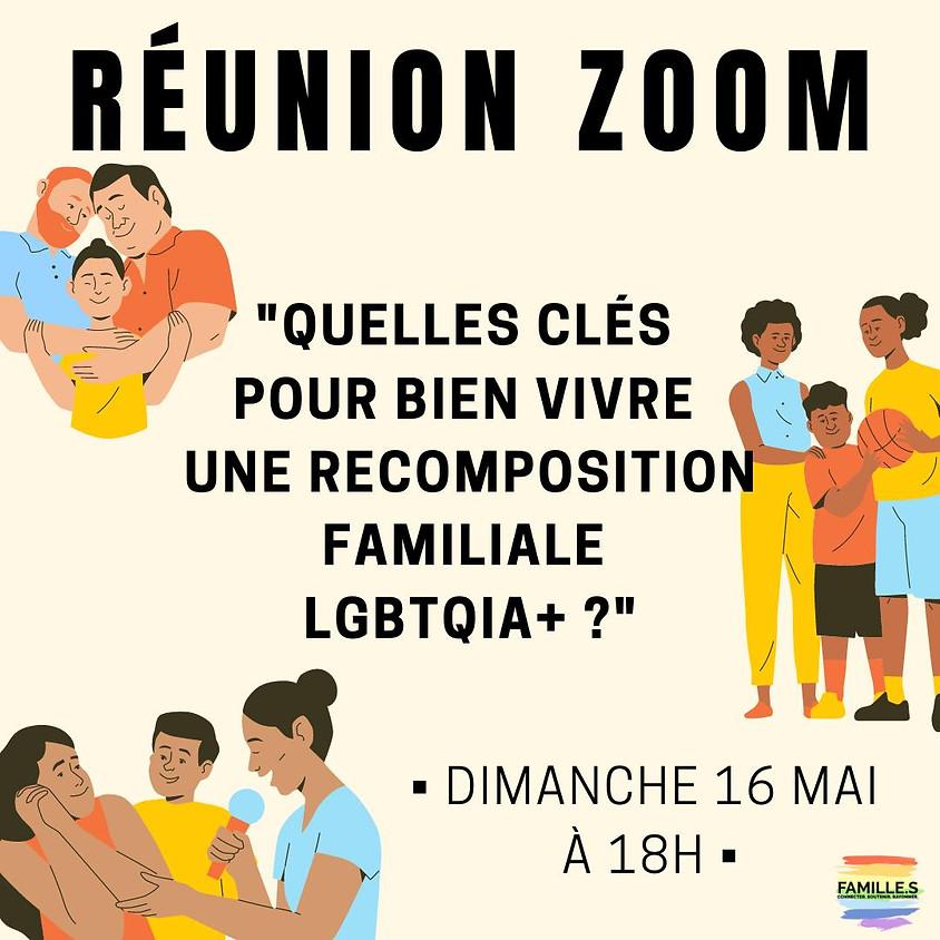 ZOOM #4 / Quelles clés pour bien vivre une recomposition familiale LGBTQIA+