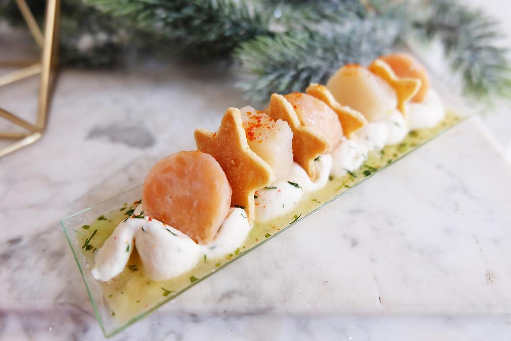 Duo de saumon confit et noix de St Jacques PICARD - 7,95€