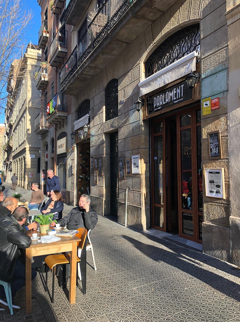 Parlament Cuina de Barri Mood of the City