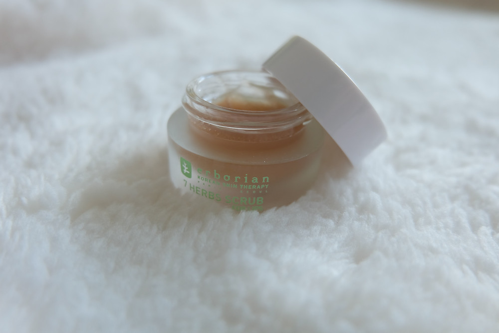 Gommage lèvres Erborian 7 herbs scrub for lips