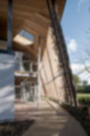 West Hall, Anchor Care, West byfleet, Surrey, old house, listed, green belt, organic design, landscape, extra care, leaf design, unique design, open plan living dining, eldery care