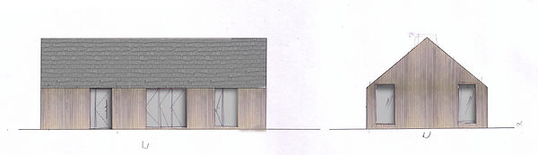 Kilkenny, cottage, irish homes, home, new house, new home, family home, ireland, timber cladding, tiles, twisted plan