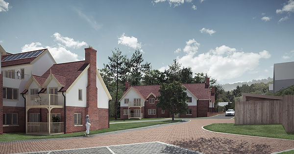 Bishpostoke Park, Anchor Care, Anchor,Care, extra care, Phase 3, cryer&coe, new build, care village