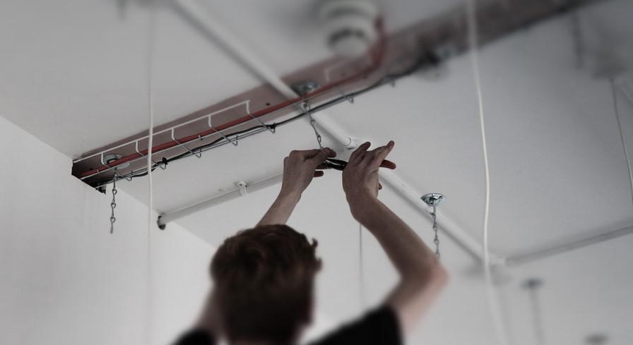 Rawlings Boardroom Ceiling